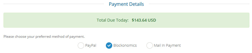 Pay for website hosting with Bitcoin on Champlain Hosting